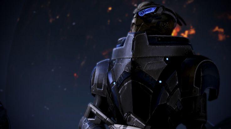 video games Mass Effect 3 Garrus Vakarian Garrus wallpaper background 736x414