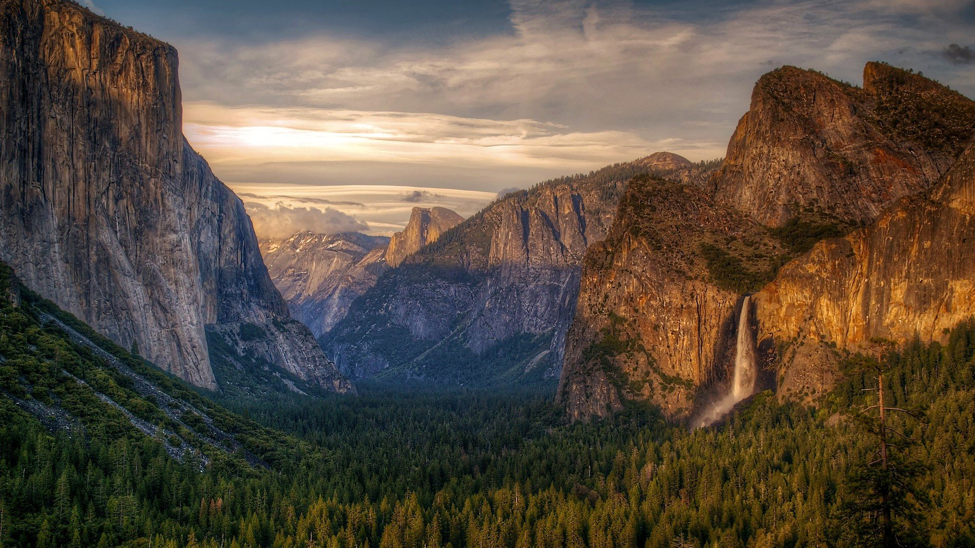 Yosemite Mountain Landscape Wallpaper HD 18 High Resolution Wallpaper 1920x1080