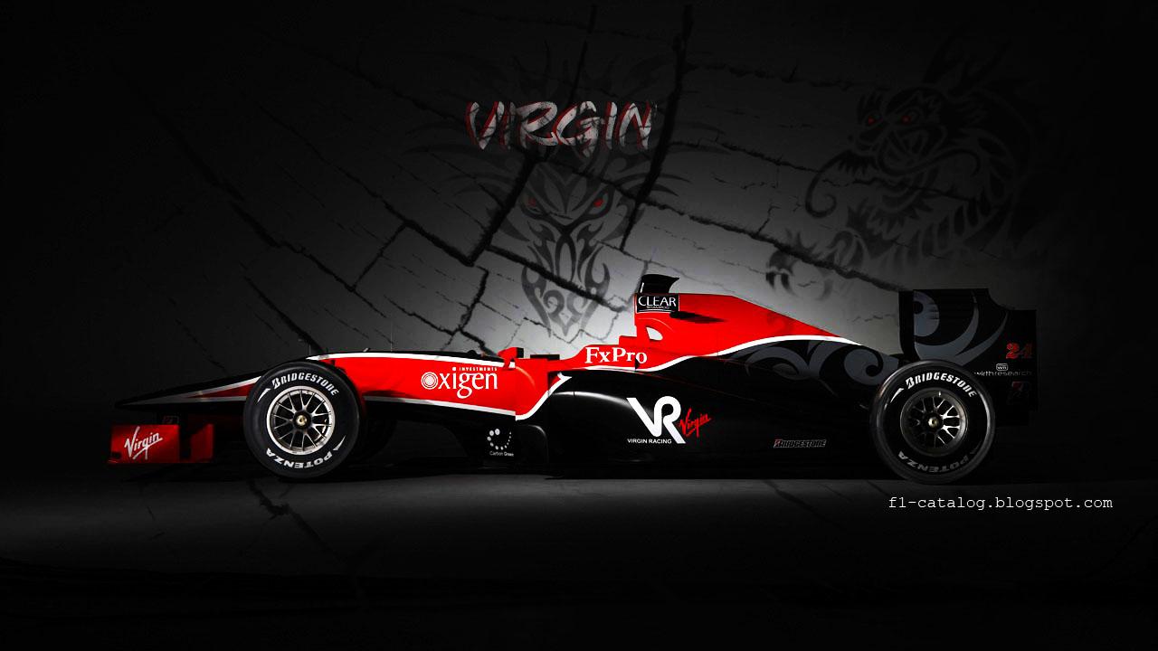 Mclaren Mercedes GP RedBull Wallpapers Virgin Racing Wallpaper 1280x720