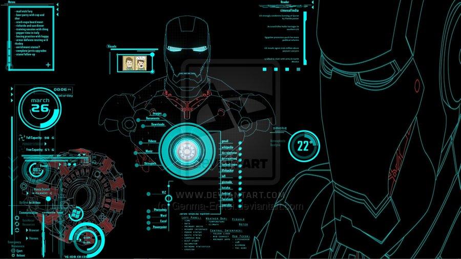 Jarvis Interactive Desktop by Genma Enkei 900x506