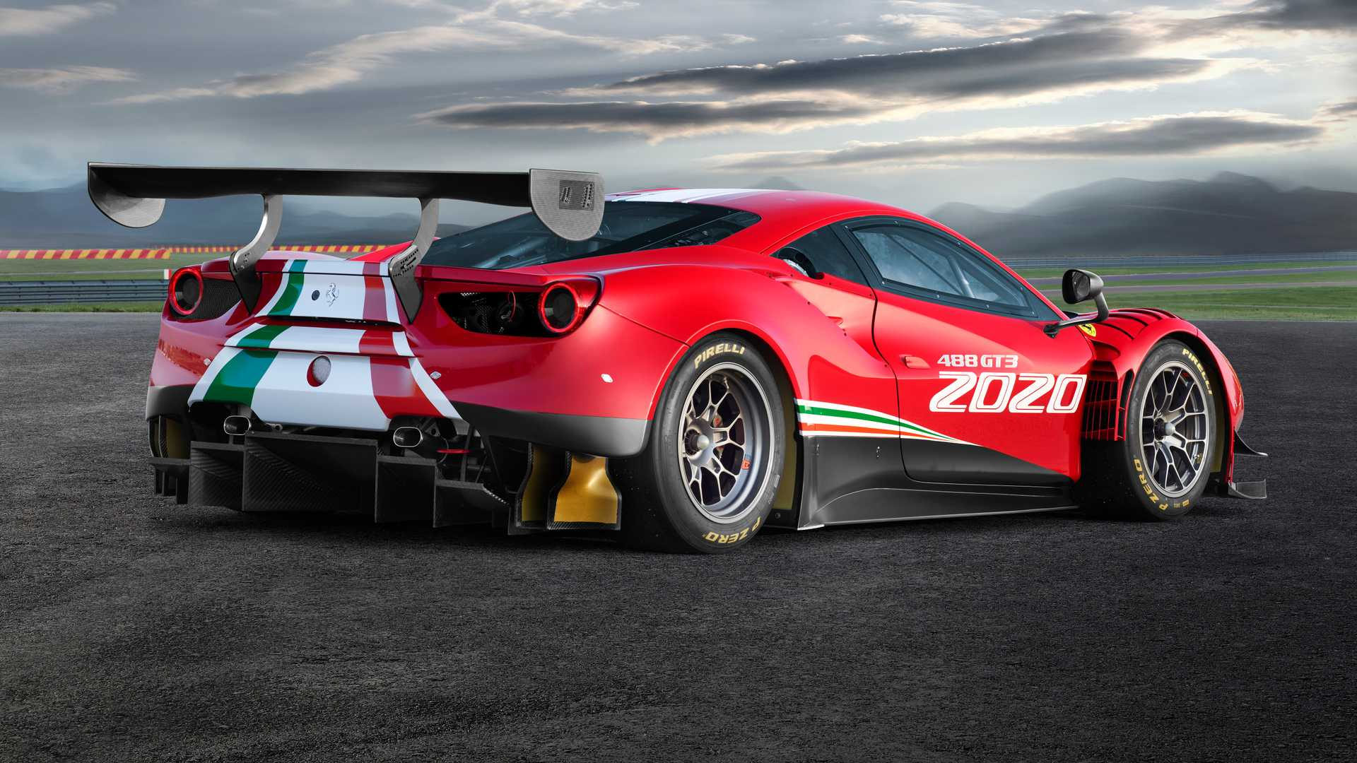 Race Bred Ferrari 488 GT3 and Challenge Get the Evo Treatment for 1920x1080
