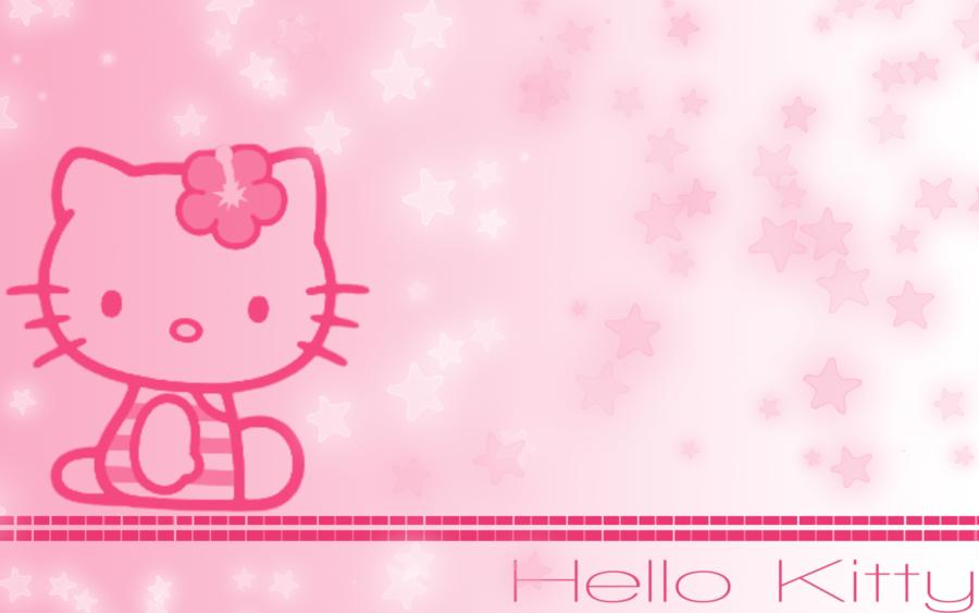 Розовые картинки хелло китти