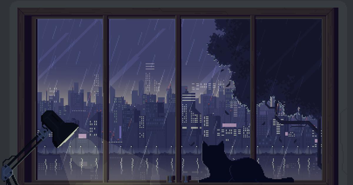 28 Aesthetic Anime Wallpaper Desktop  Milkyycloud Pixel Art 1200x630