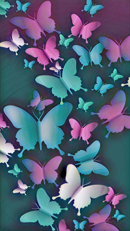 Butterfly Wallpaper wallpapers in 2019 Butterfly wallpaper 556x984