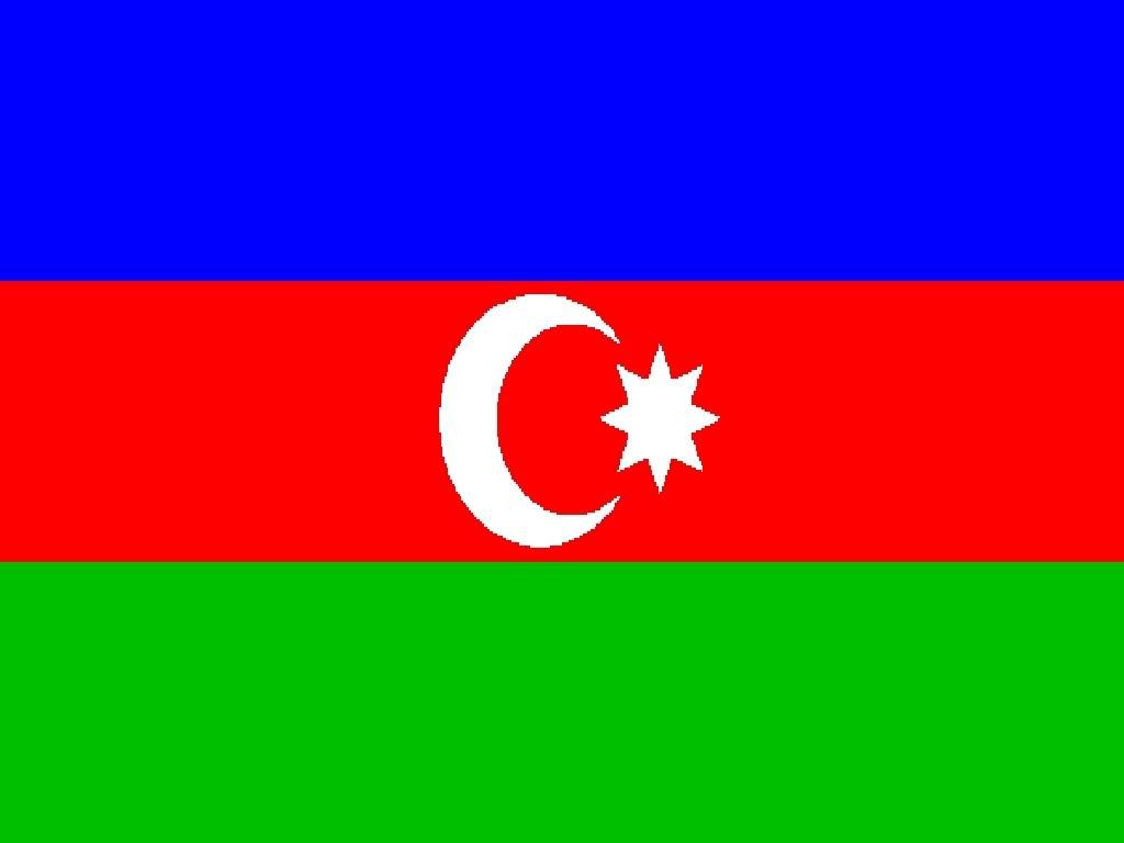 Azerbaijan Falg And Map PicturesAzerbaijan Falg And Map Images 1024x768