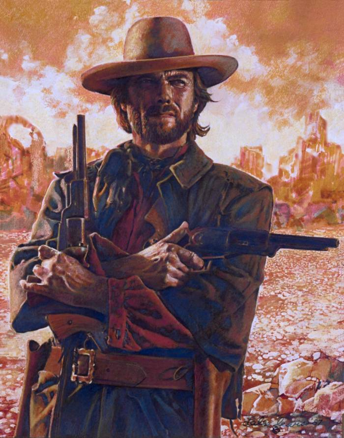 The Outlaw Josey Wales Wallpaper the outlaw josey wales by 700x890