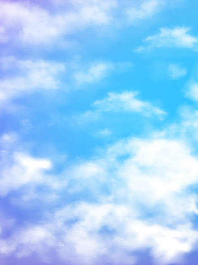 Fresh And Comfortable Clouds Blue Sky Background Clouds Blue 640x856