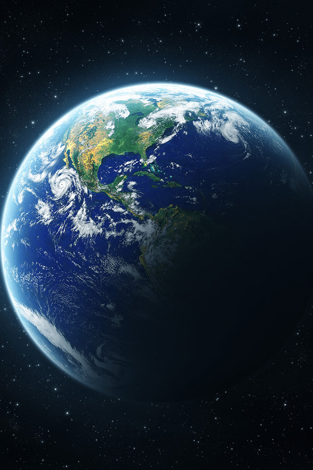 Planet Earth   iPhone Wallpaper 640x960