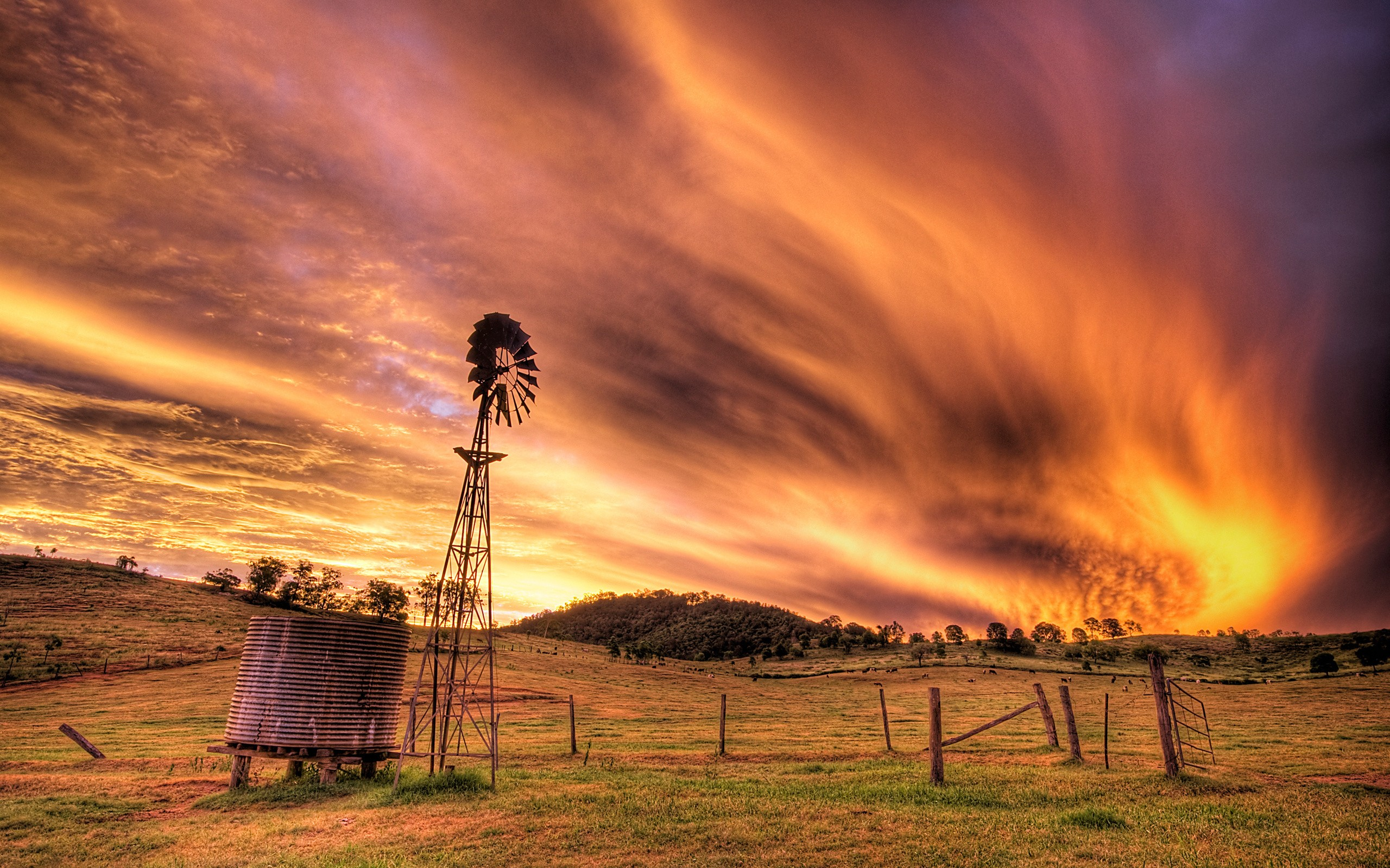 landscapes country HD Wallpaper 2560x1600