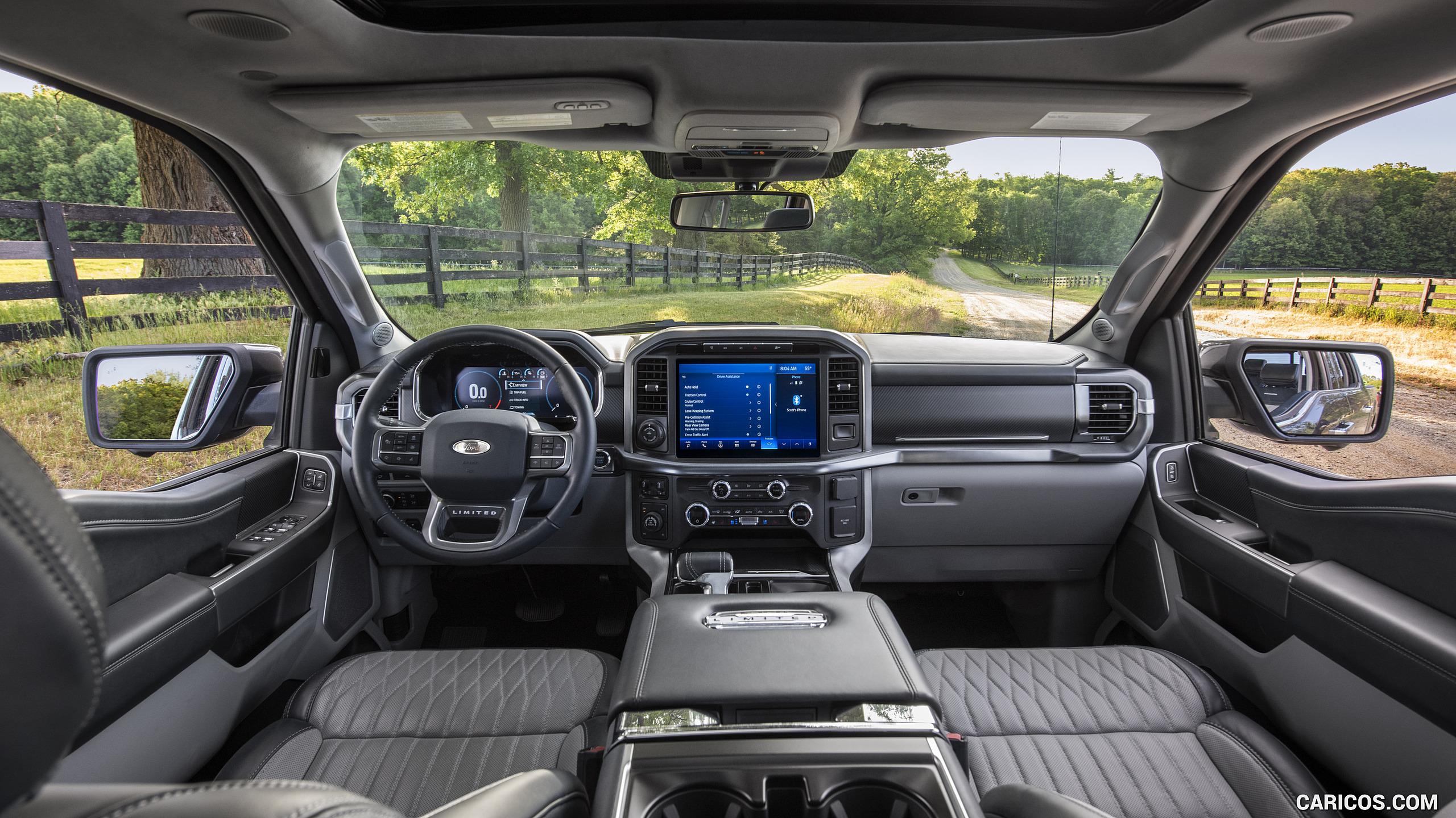 2021 Ford F 150   Interior Cockpit HD Wallpaper 28 2560x1440
