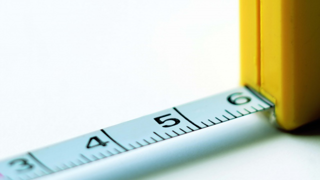 Wallpaper ruler tape measure close up white background HD 640x360