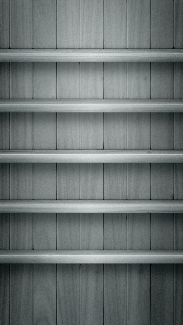 Iphone 5 Backgrounds Shelf 640x1136