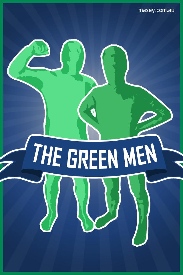 Vancouver Canucks Green Men iPhone 4 Wallpaper Flickr   Photo 640x960