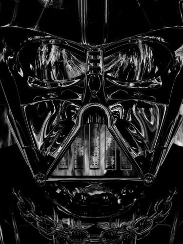 Darth Vader on Fire screensaver for Amazon Kindle 3 375x500