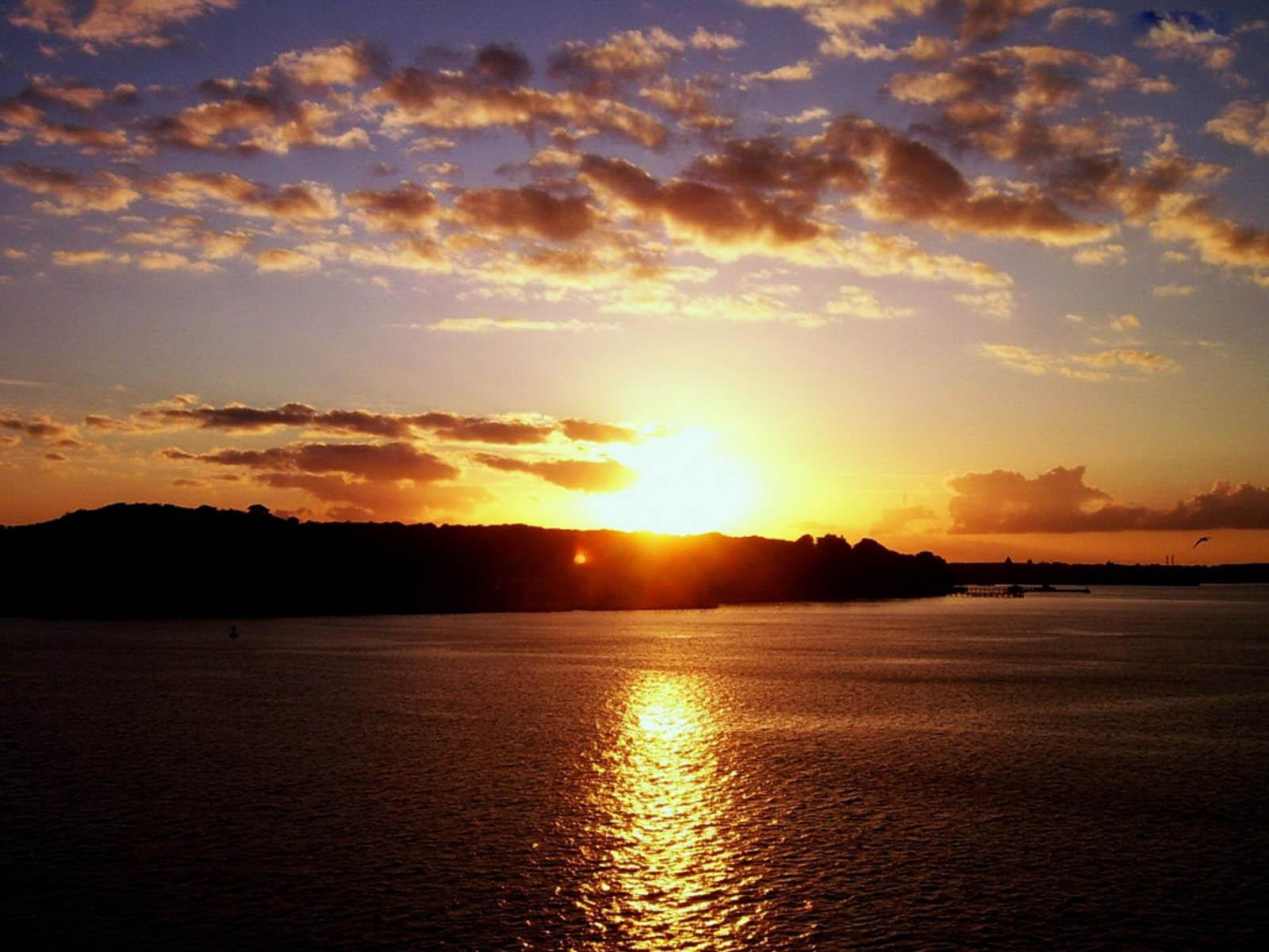 wallpaper: Island Sunset Wallpapers