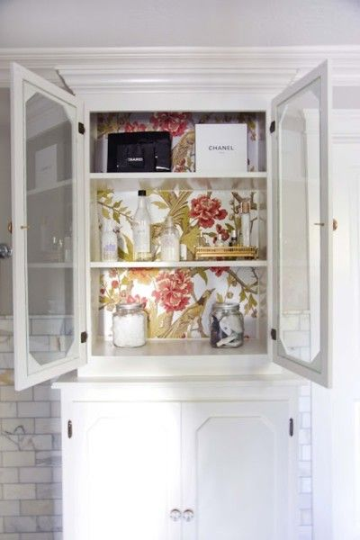 Creative Ideas for Using Wallpaper Home Decorating Pinterest 400x600