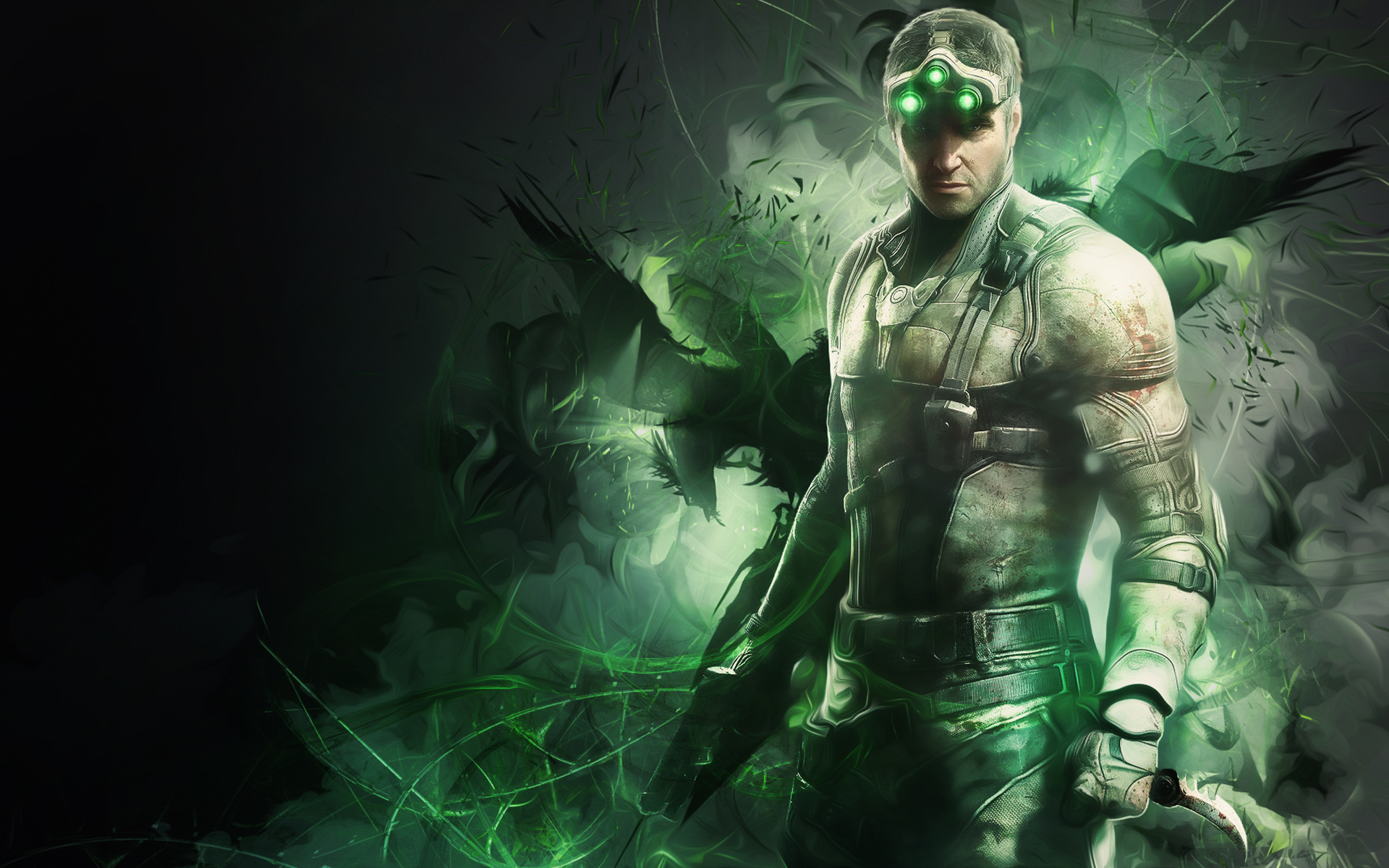 Sam Fisher in Splinter Cell Wallpapers HD Wallpapers 1920x1200