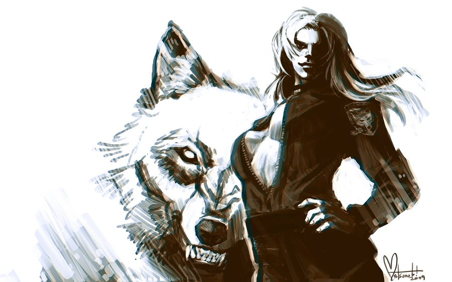 Sniper Wolf by spacecoyote 900x563
