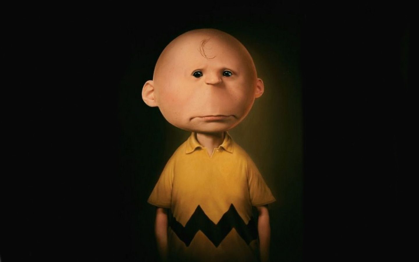 Charlie Brown 3D 3d cartoon Charlie Brown peanuts 141715 1440x900