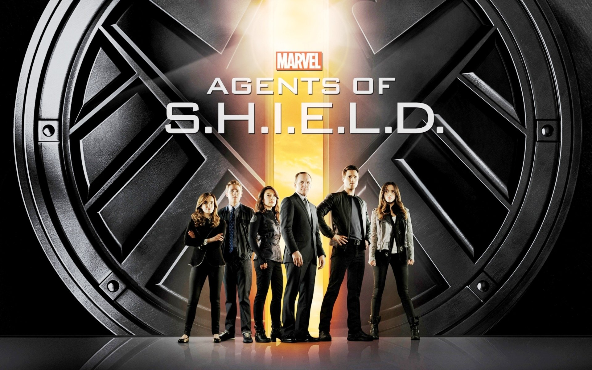 AGENTS OF SHIELD action drama sci fi marvel comic series crime 23 1920x1200