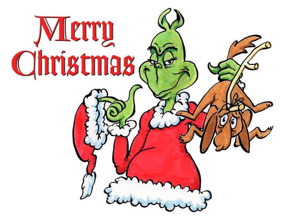 The Grinch   How The Grinch Stole Christmas Wallpaper 3149494 1024x768