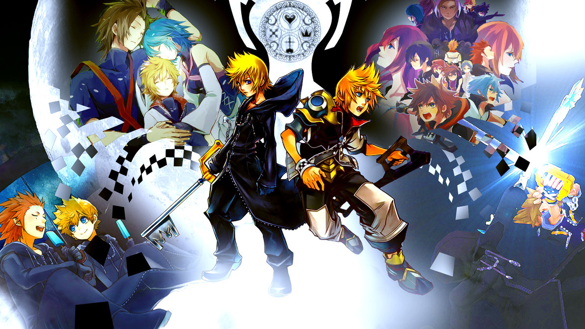 Kingdom Hearts Wallpaper by Sasori640 1191x670