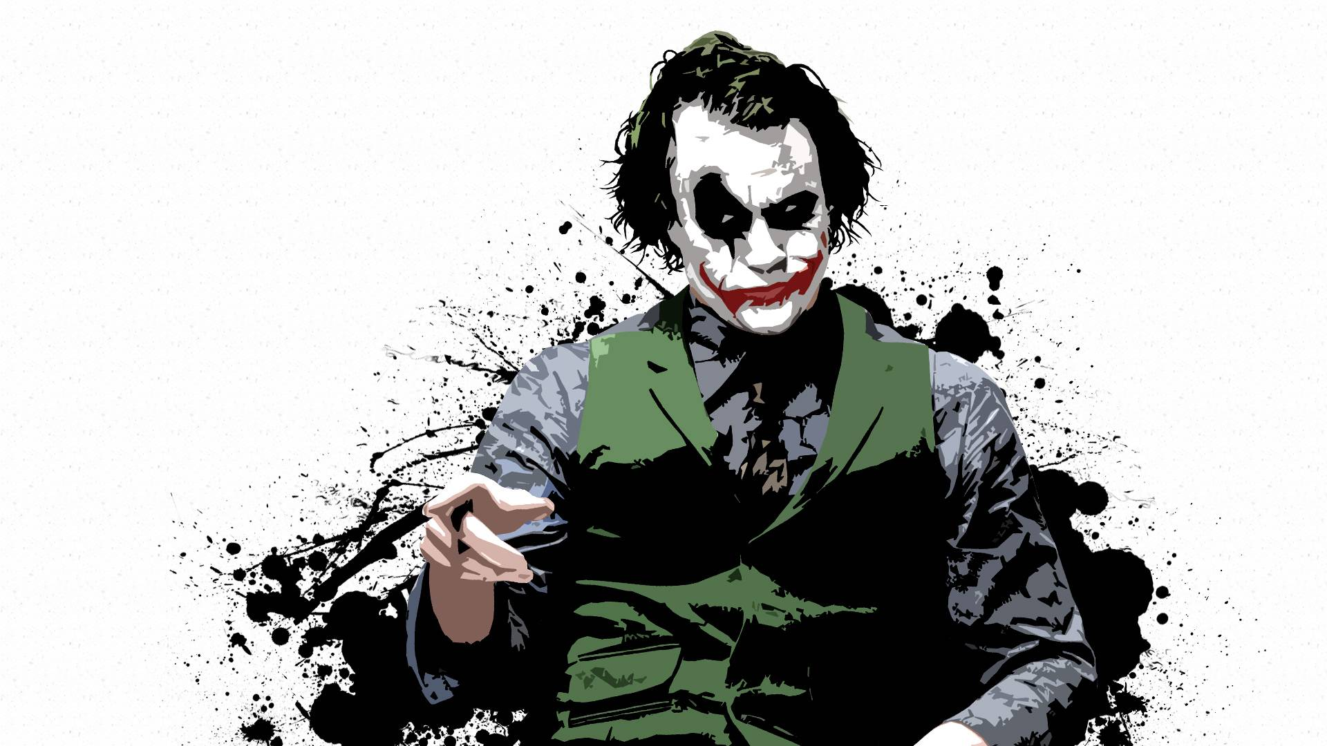 Pics Photos   Joker Batman Dark Knight Wallpaper Cartoon 1920x1080