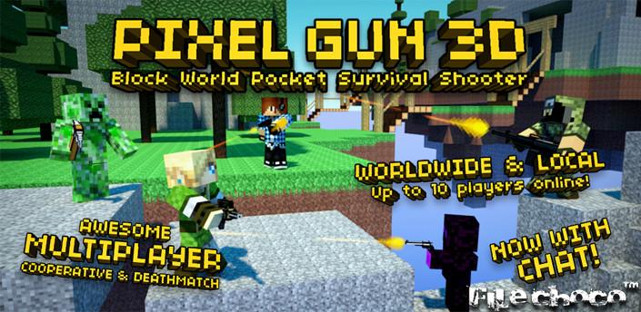 pixel gun 3d pro minecraft ed v4 0 apk play pixel gun 3d pro in 705x344