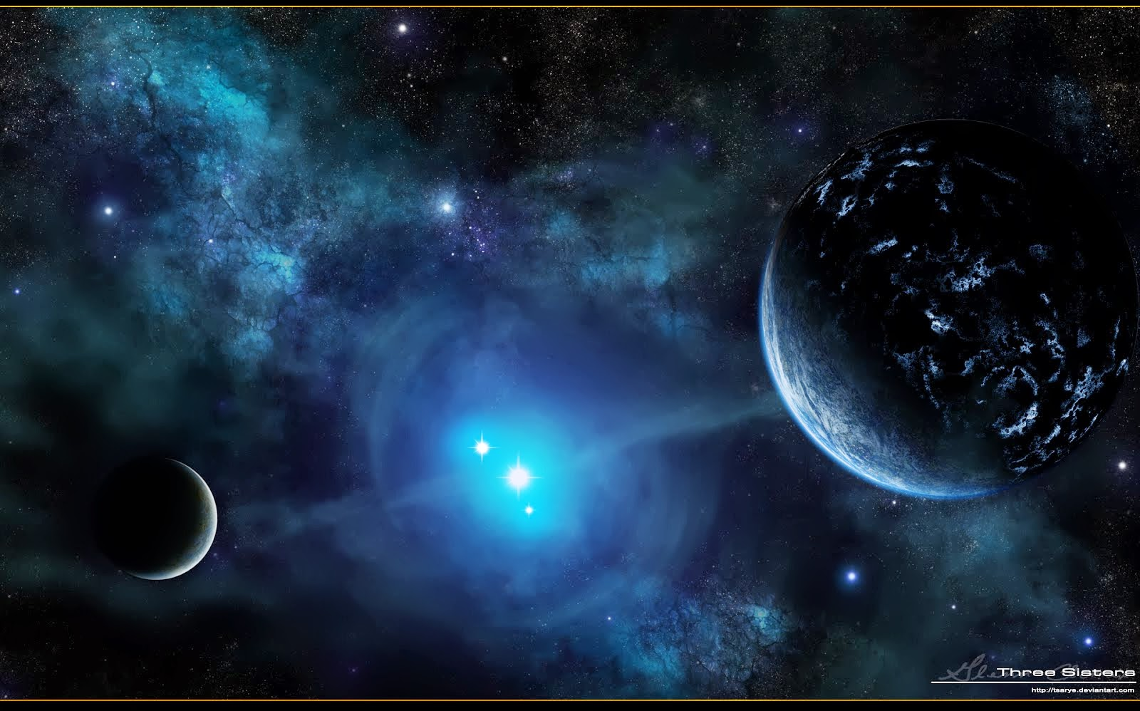 Space Fantasy Wallpaper | Space Wallpaper