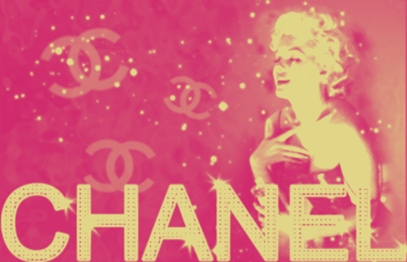 Pink Chanel Background Pink Chanel Wallpaper Cover 795x512