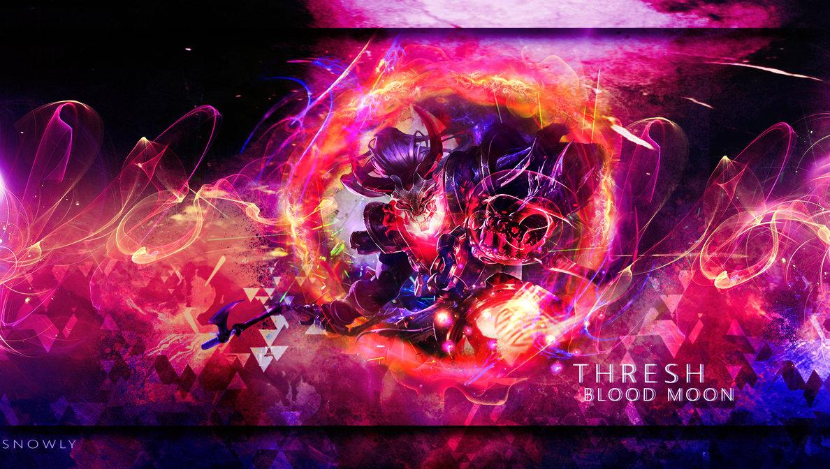 Blood Moon Thresh Wallpaper - WallpaperSafari