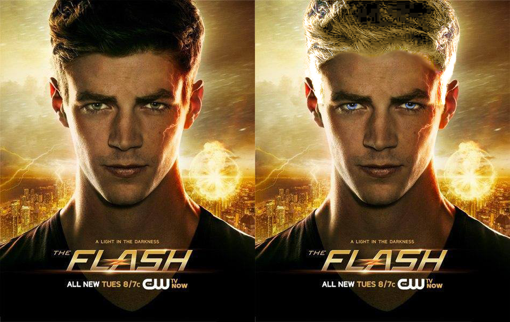 Barry Allen Pre and Post Speed Force by Arrowverse 1024x647
