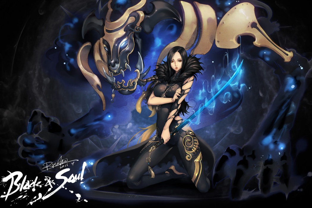 HD Blade and Soul Video Game Girl HD Photos Wallpaper images 1080p 1050x700