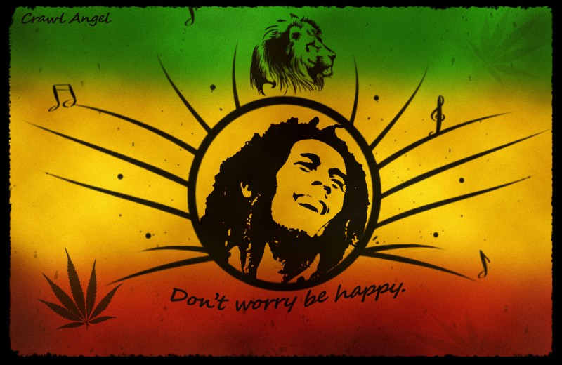 don t worry be happy wallpaper description download bob marley don t 800x520
