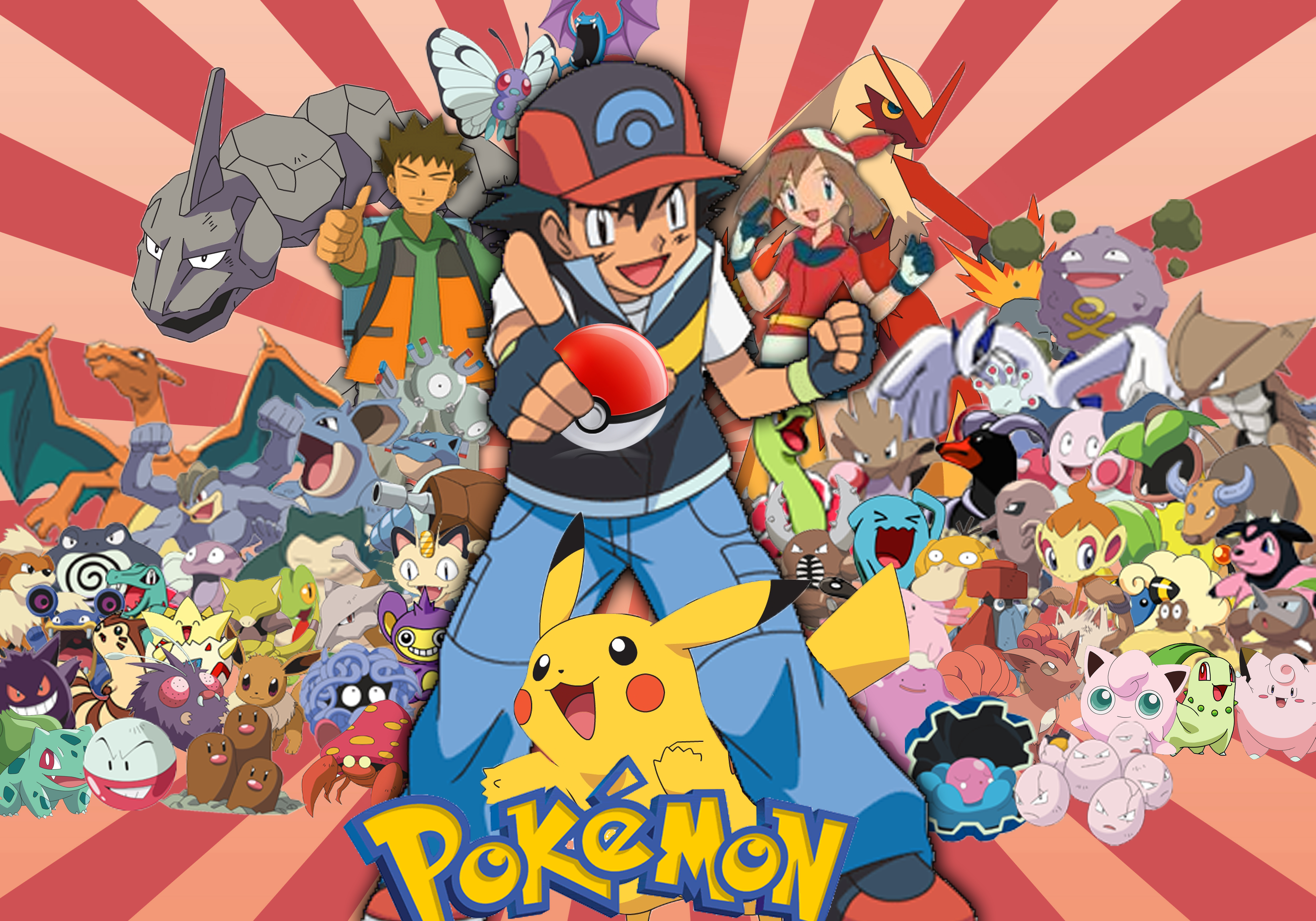 Pokemon HD Pictures Hd Wallpapers 5000x3500