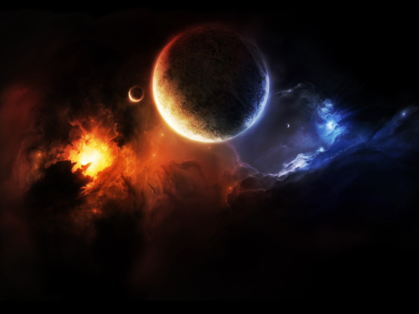 Deep Space desktop wallpaper 1600x1200