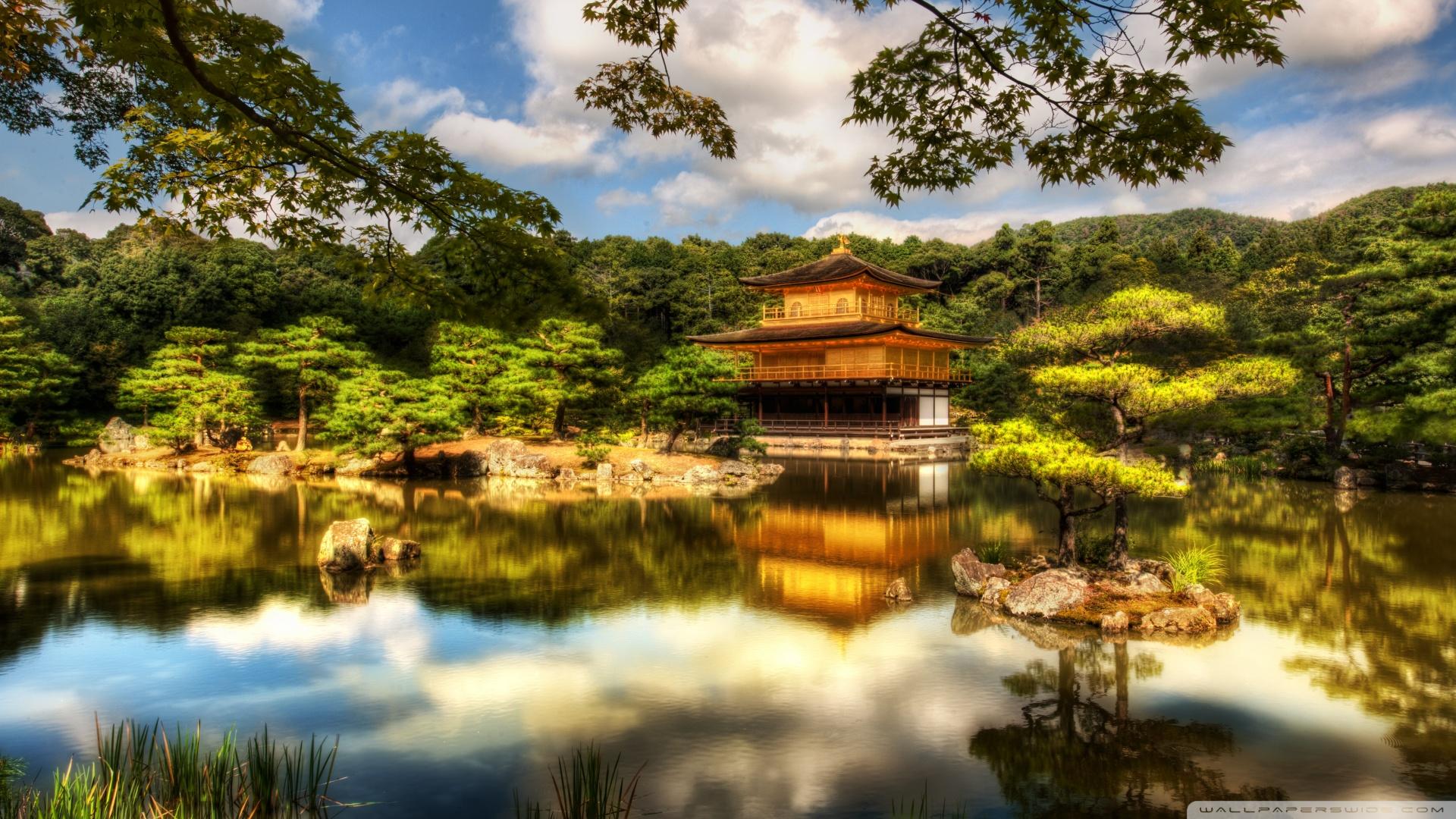 Golden Pavilion Kyoto Wallpaper 1920x1080 The Golden Pavilion Kyoto 1920x1080