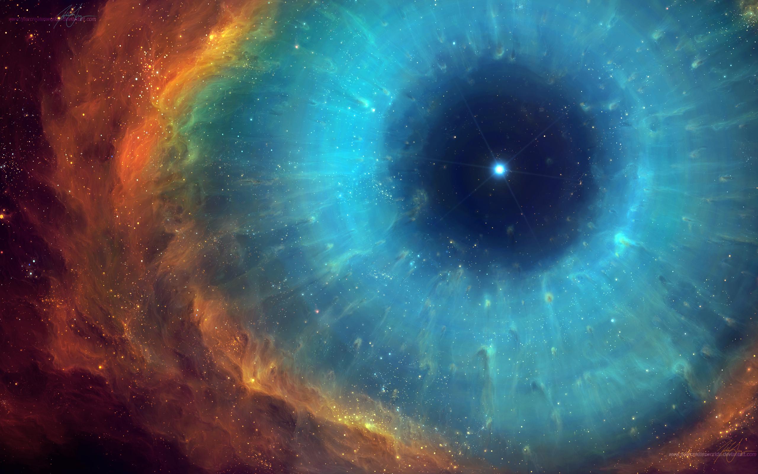 Supernova Stars Explosion Blue wallpaper 2560x1600 70802 2560x1600
