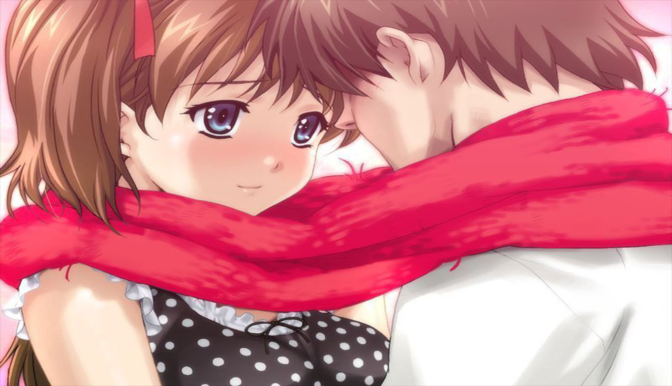 [73+] Cute Anime Couple Wallpaper on WallpaperSafari