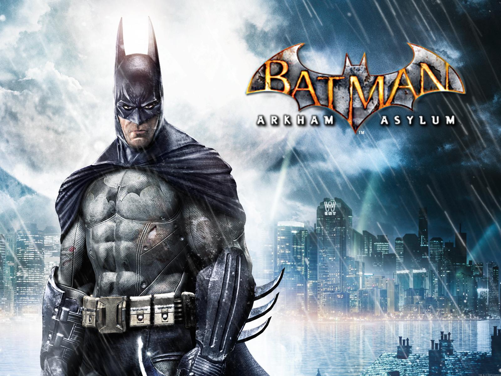 Batman Arkham Asylum Wallpaper 1600x1200