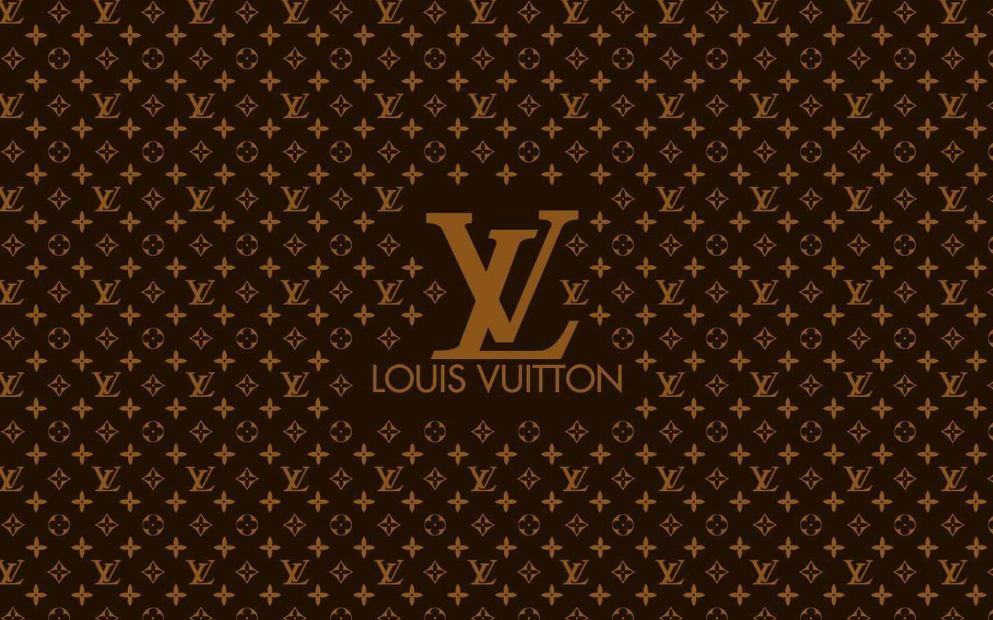 Louis Vuitton Logo Wallpaper Wallpapersafari