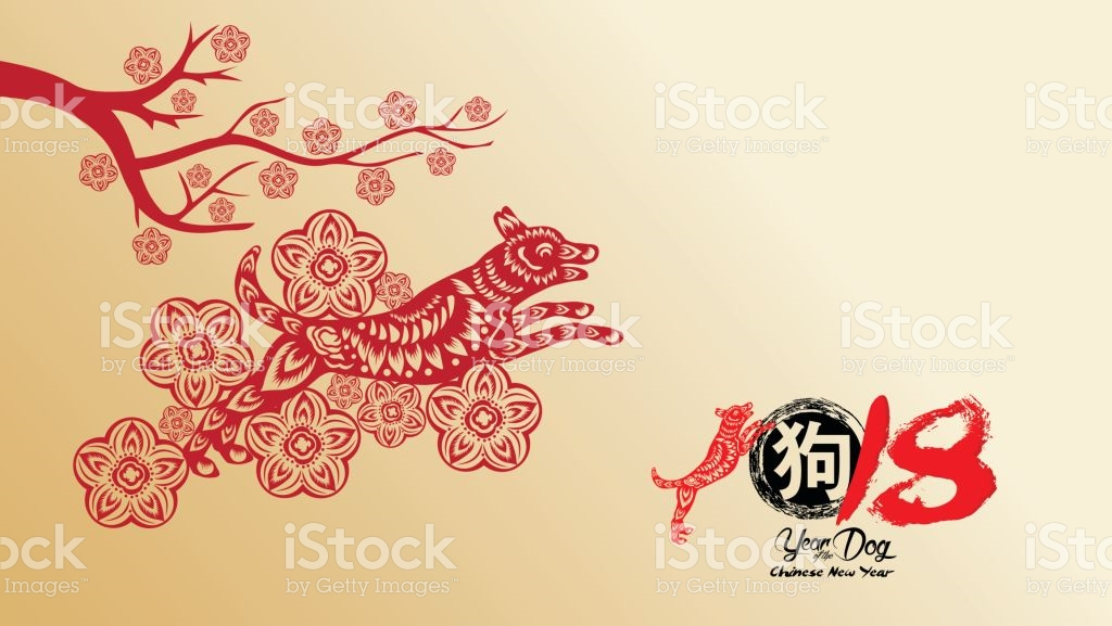 Chinese New Year 2018 With Blossom Wallpapers Year Of The 1024x577