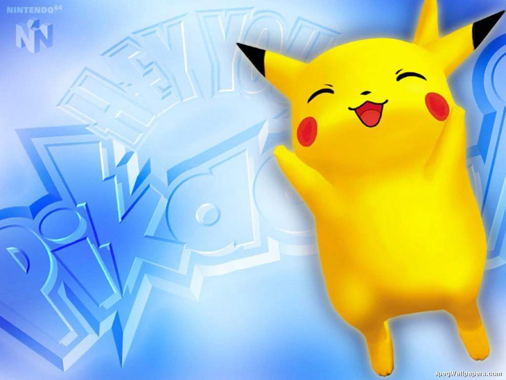 Pokemon Pikachu wallpaper 1024x768