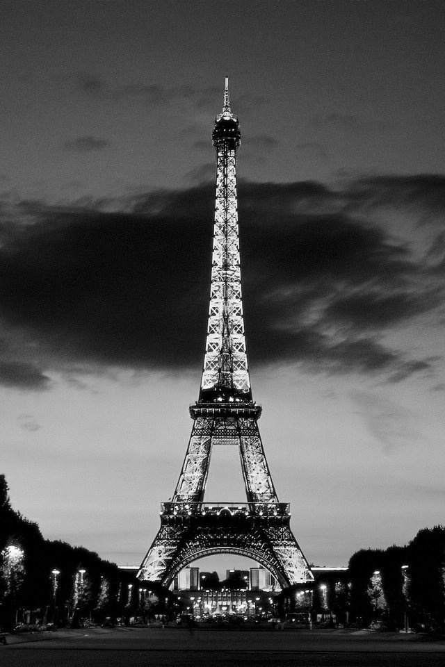 iphone wallpapers hd cool black and white tower wallpaper for iphone 640x960