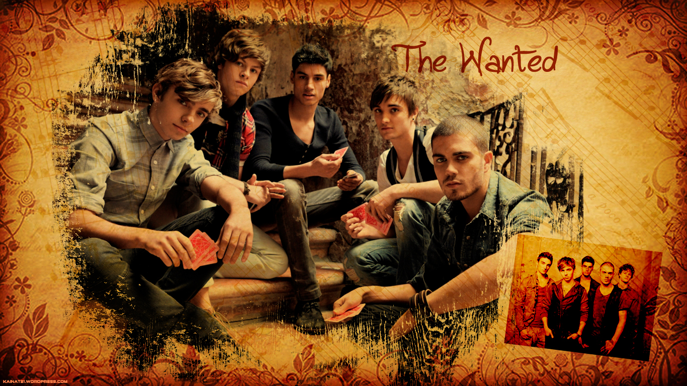 The Wanted Wallpaper   The Wanted Photo 31540806 1366x768