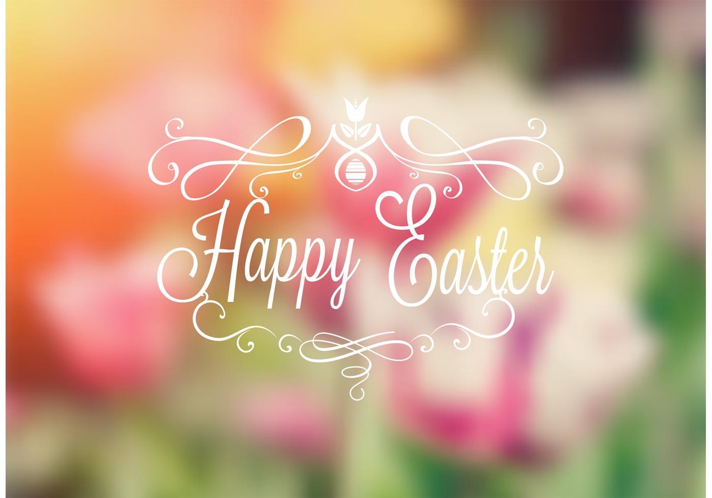 Free Download Happy Easter Typography Download Vectors Clipart
