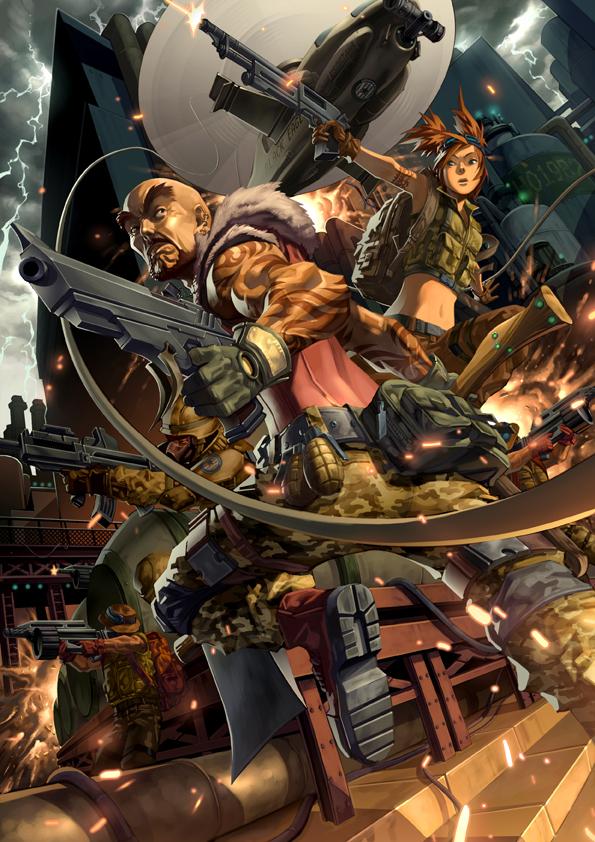Infinity The Game   Ariadna cover by SENGHUI 595x842