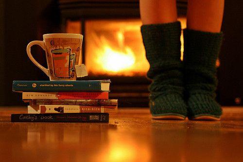 autumn books coffee cozy drink fall   image 61927 on Favimcom 500x333