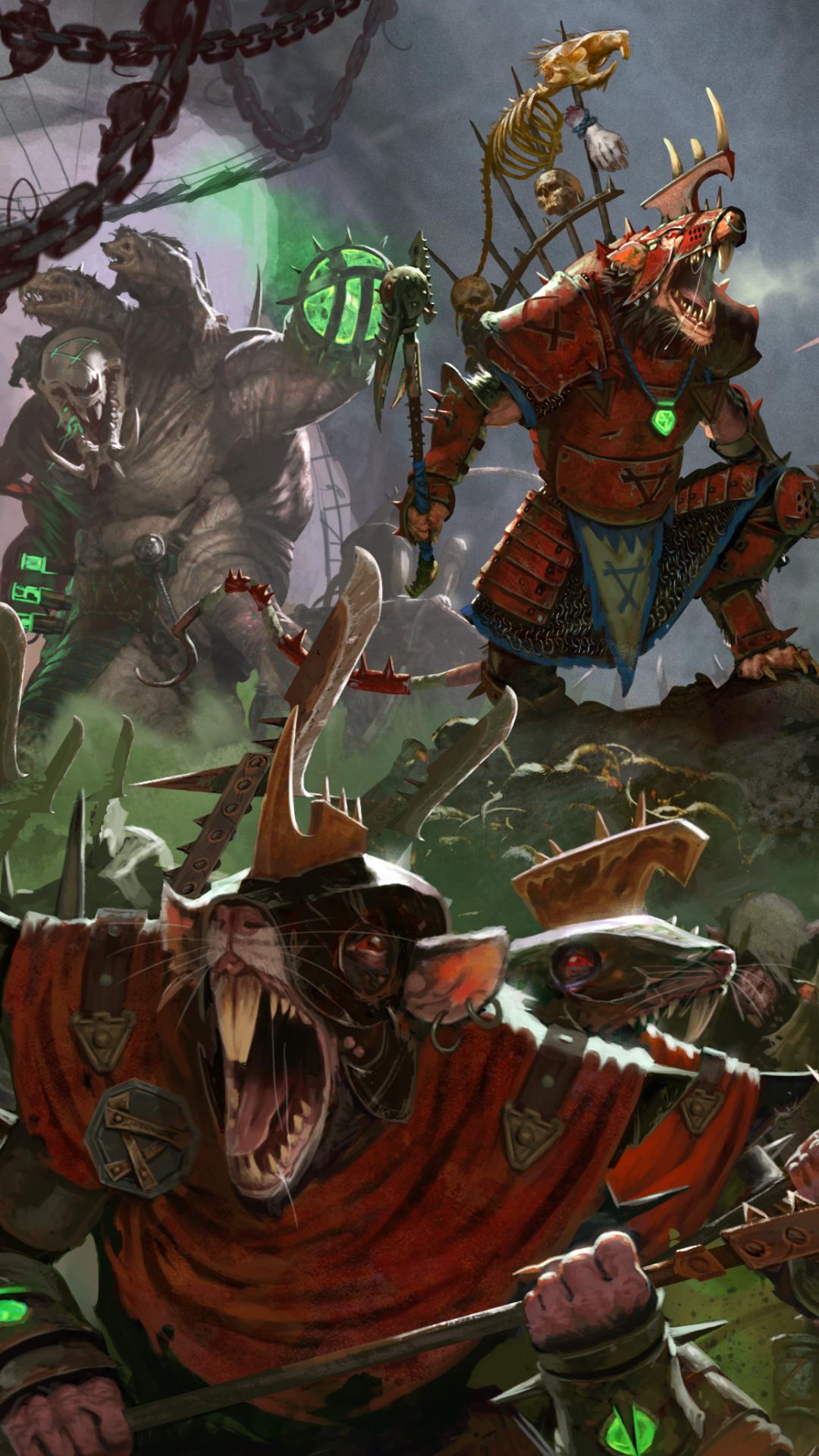 Free Download Mobile Wallpaper Total War Warhammer 2 Skaven