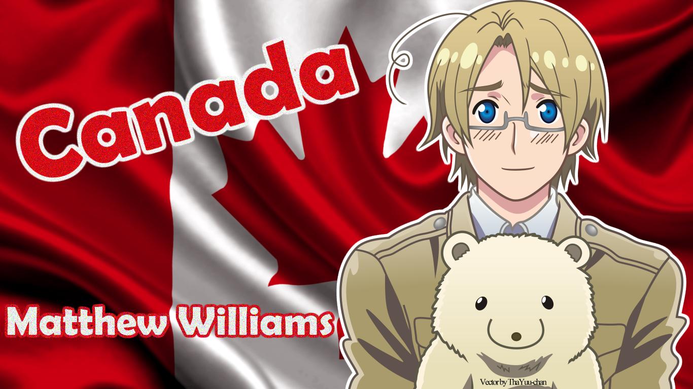 APH] Canada Matthew Williams Wallpaper by LuvOshawott 1366x768